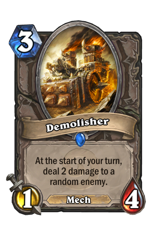 Demolisher Hearthstone kártya
