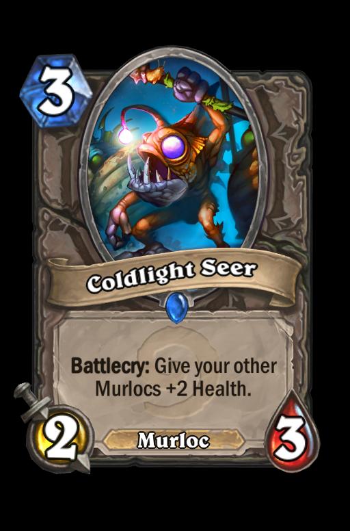 Coldlight Seer Hearthstone kártya