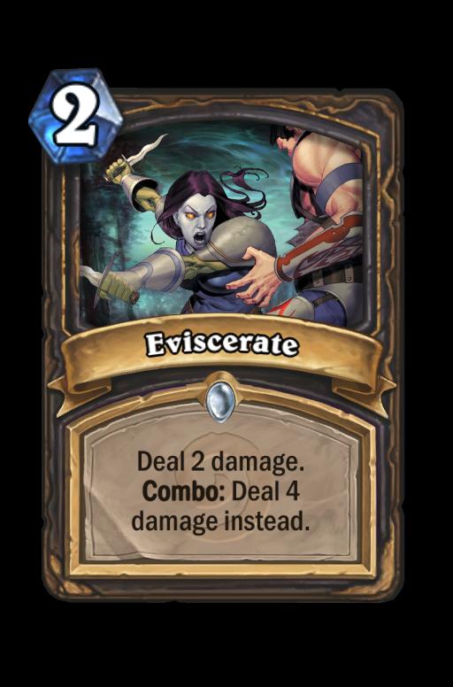 Eviscerate Hearthstone kártya
