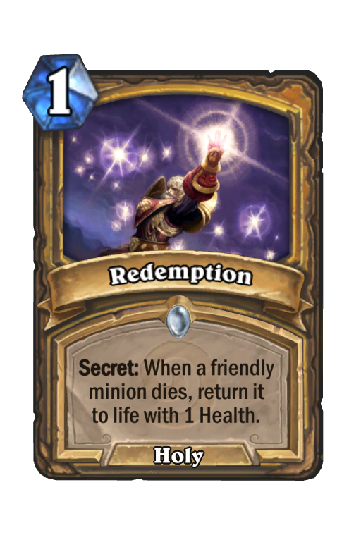 Redemption Hearthstone kártya
