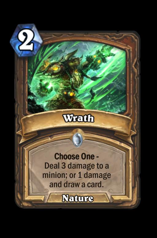 Wrath Hearthstone kártya