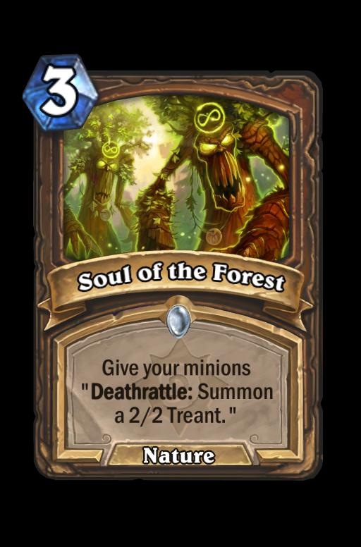 Soul of the Forest Hearthstone kártya