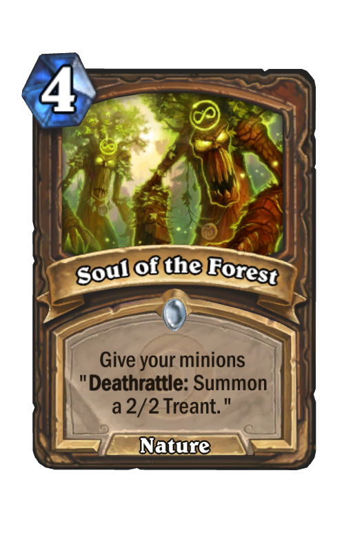 Soul of the Forest Hearthstone kártya