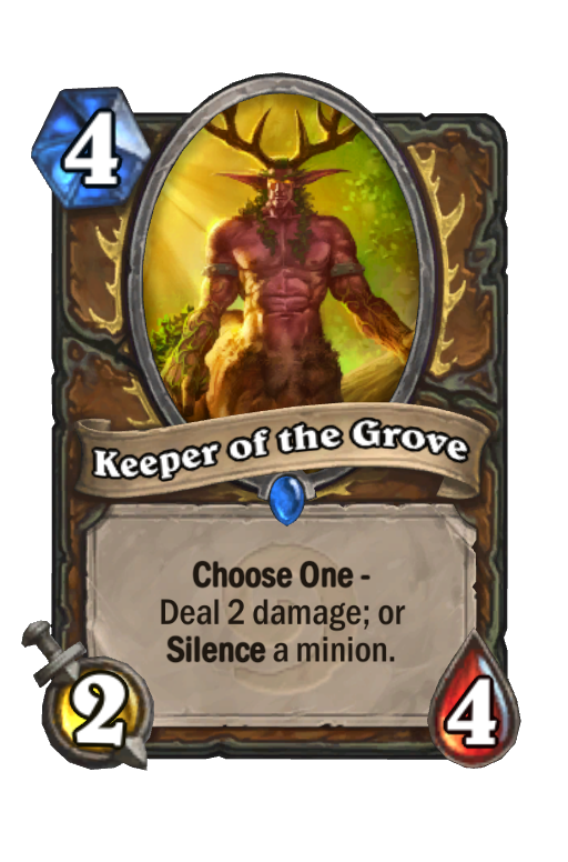 Keeper of the Grove Hearthstone kártya
