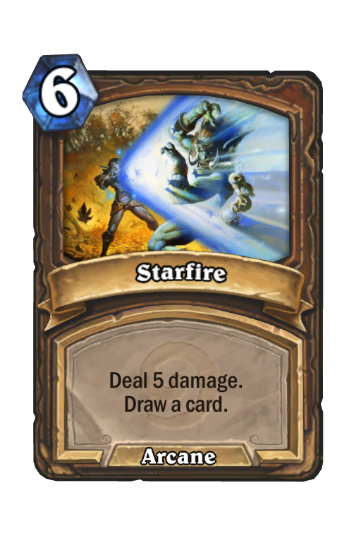 Starfire Hearthstone kártya