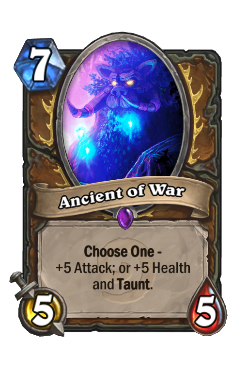 Ancient of War Hearthstone kártya