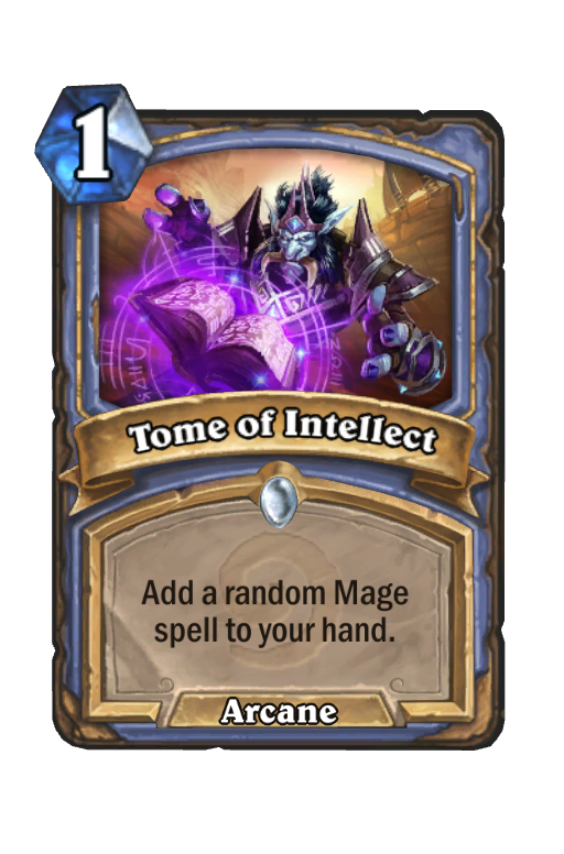 Tome of Intellect Hearthstone kártya
