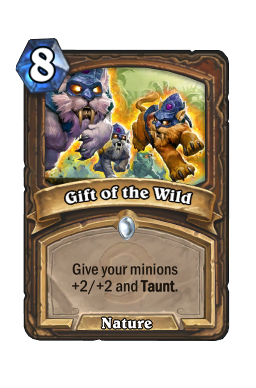 Gift of the Wild Hearthstone kártya