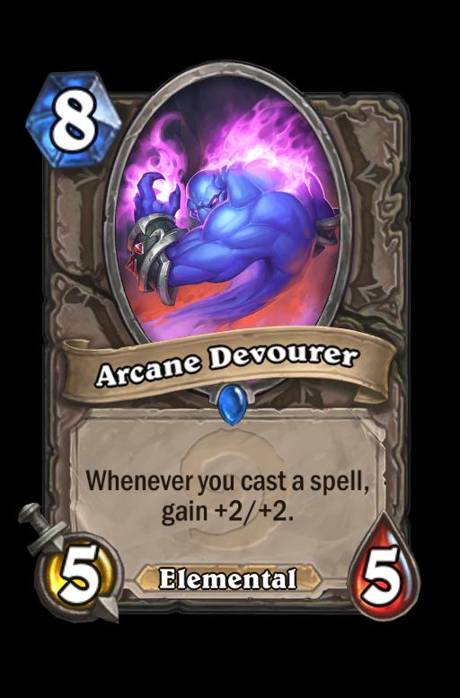 Arcane Devourer Hearthstone kártya