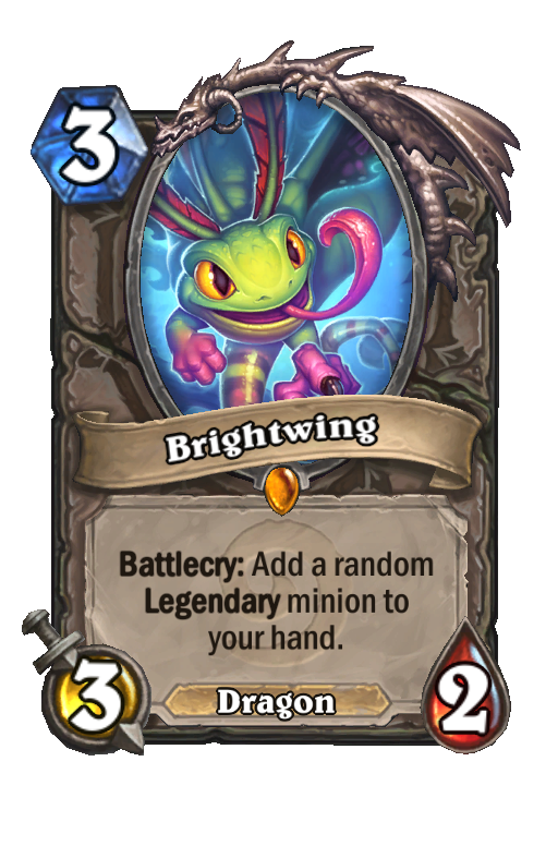 Brightwing Hearthstone kártya