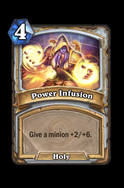 Power Infusion Hearthstone kártya