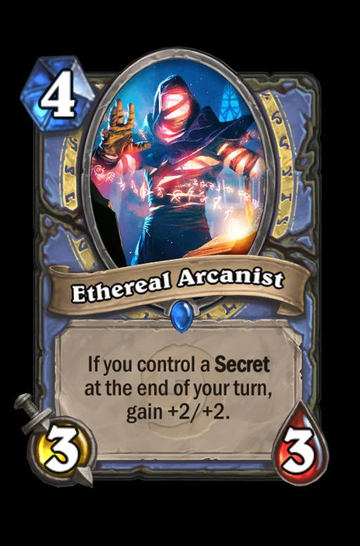 Ethereal Arcanist Hearthstone kártya