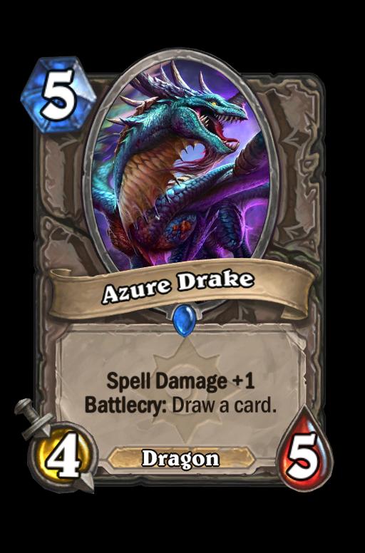 Azure Drake Hearthstone kártya