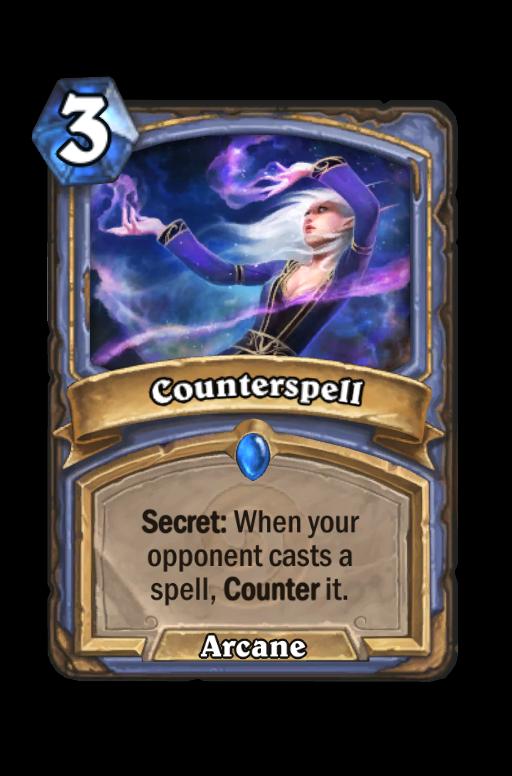 Counterspell Hearthstone kártya