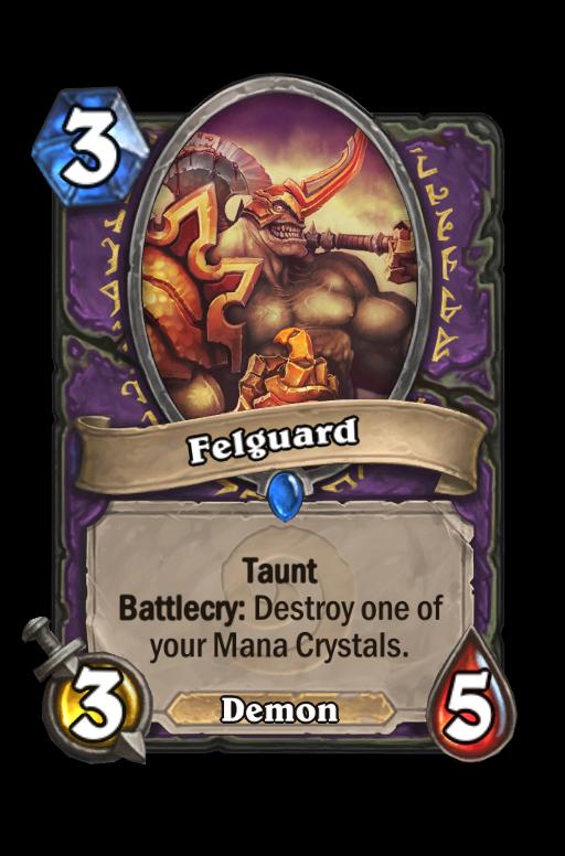 Felguard Hearthstone kártya