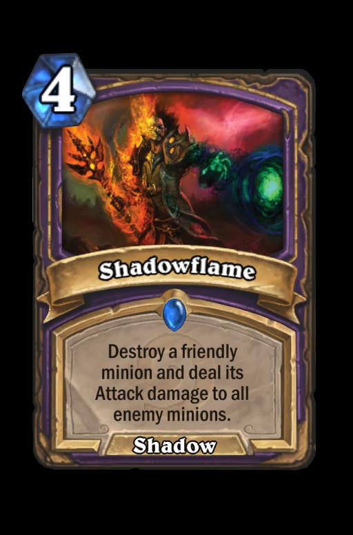 Shadowflame Hearthstone kártya