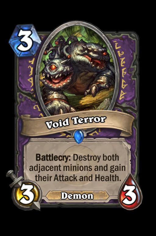 Void Terror Hearthstone kártya