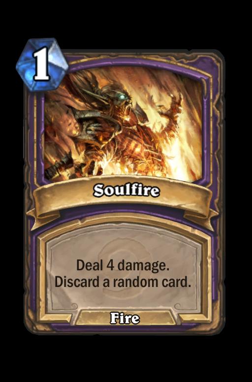 Soulfire Hearthstone kártya