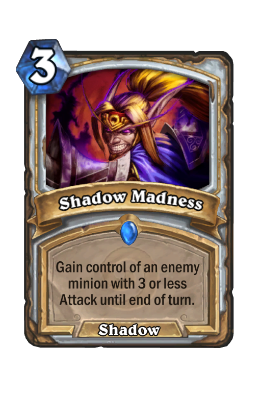 Shadow Madness Hearthstone kártya