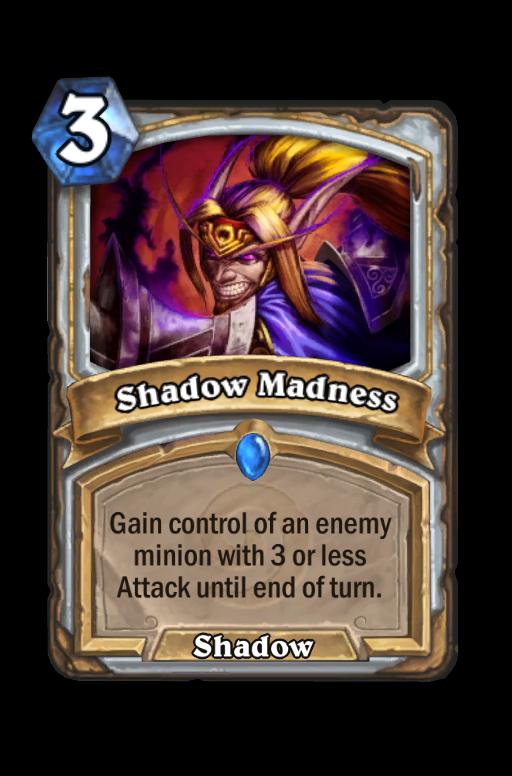 Shadow Madness Hearthstone kártya
