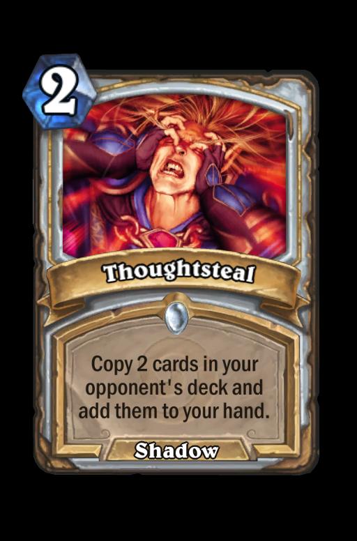 Thoughtsteal Hearthstone kártya
