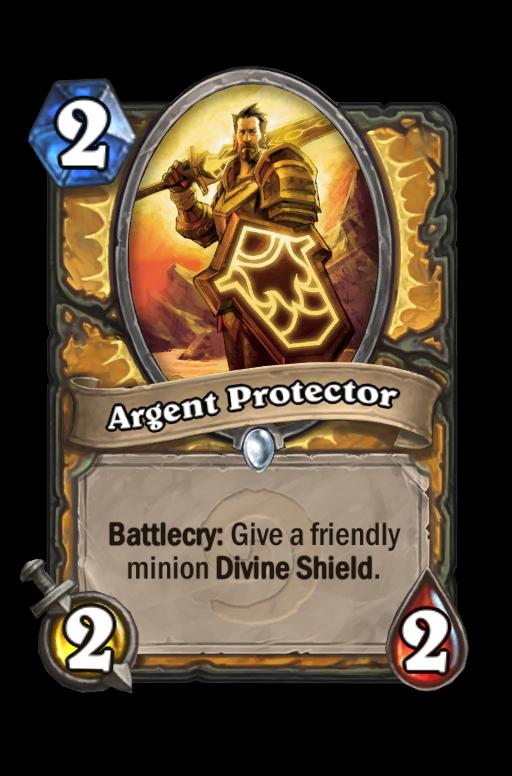 Argent Protector Hearthstone kártya