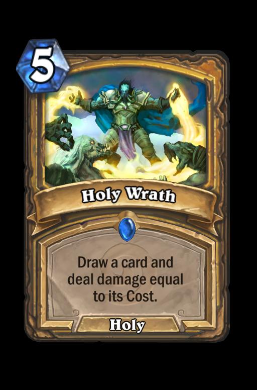 Holy Wrath Hearthstone kártya