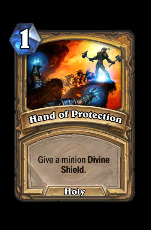 Hand of Protection Hearthstone kártya