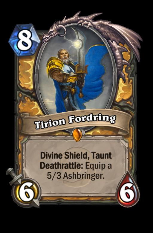 Ismerd a kártyák történetét: Highlord Tirion Fordring