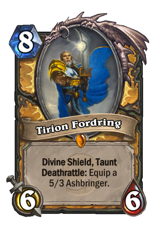 Tirion Fordring Hearthstone kártya