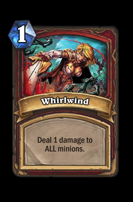 Whirlwind Hearthstone kártya