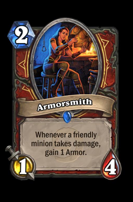 Armorsmith Hearthstone kártya