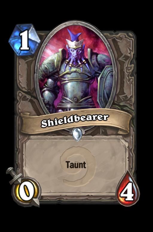 Shieldbearer Hearthstone kártya
