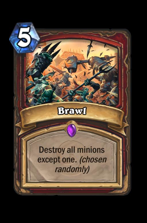 Brawl Hearthstone kártya