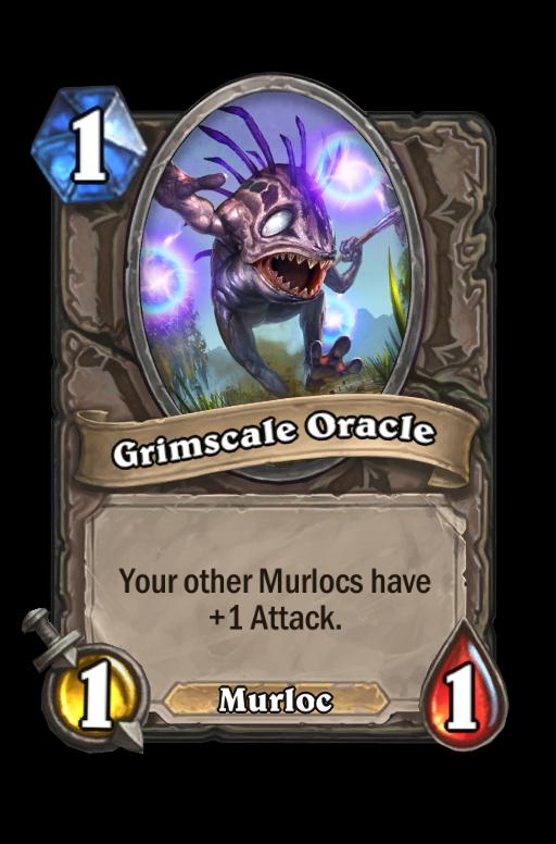 Grimscale Oracle Hearthstone kártya