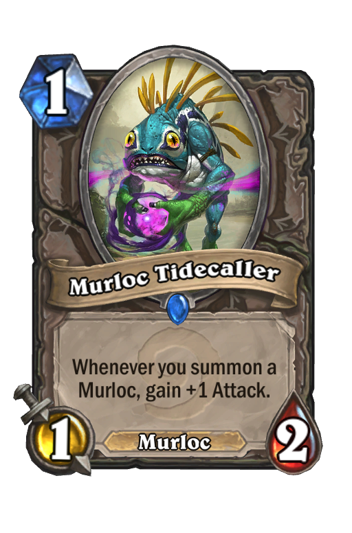 Murloc Tidecaller Hearthstone kártya
