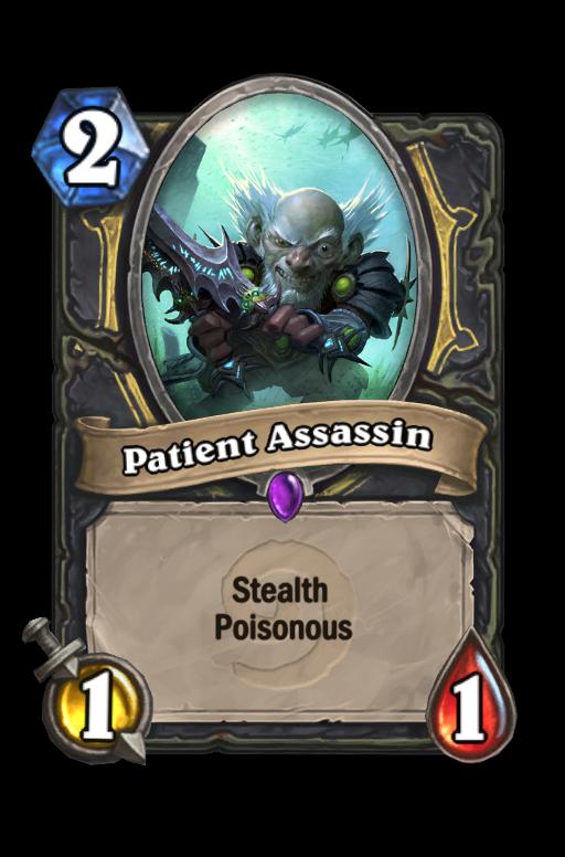 Patient Assassin Hearthstone kártya