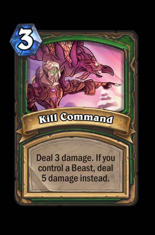 Kill Command Hearthstone kártya