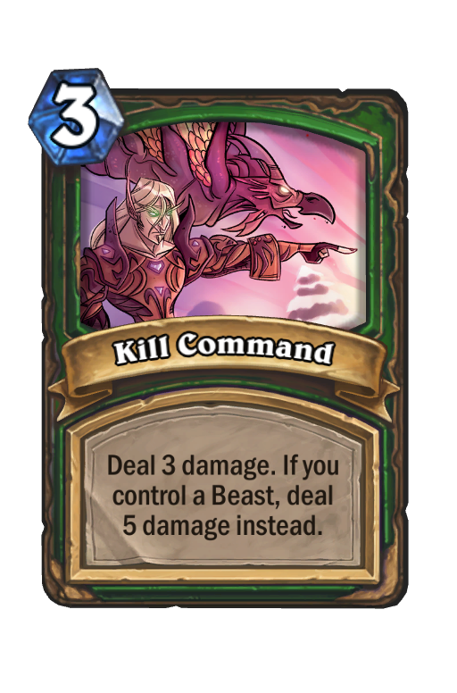 Kill Command Hearthstone kártya