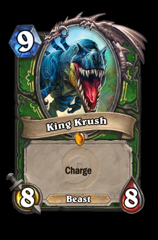 King Krush Hearthstone kártya