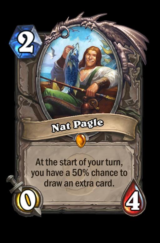 Nat Pagle Hearthstone kártya