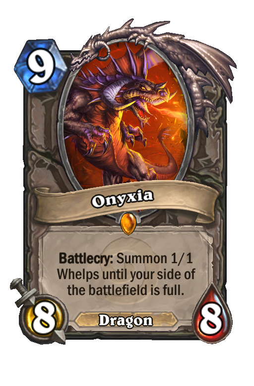Onyxia Hearthstone kártya