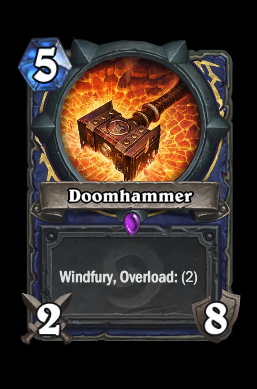 Doomhammer Hearthstone kártya