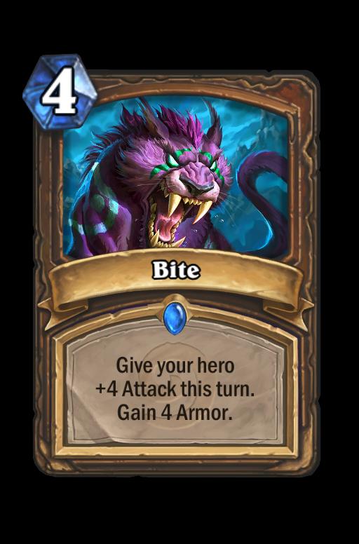 Bite Hearthstone kártya