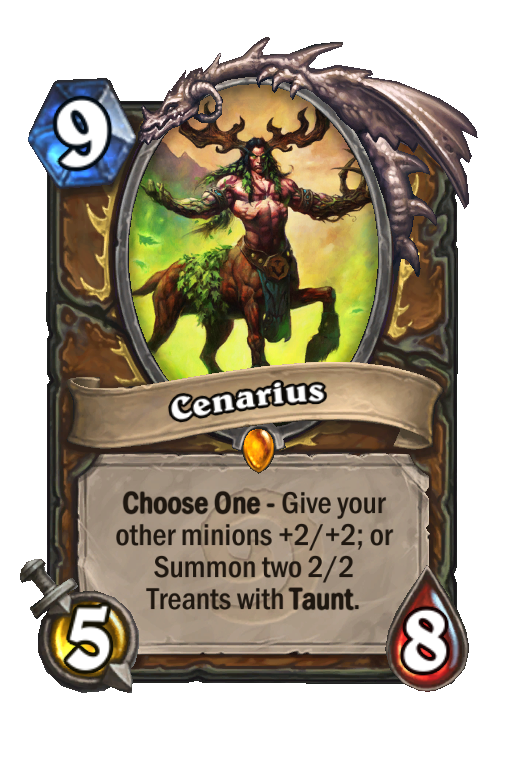 Cenarius Hearthstone kártya