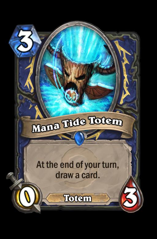 Mana Tide Totem Hearthstone kártya