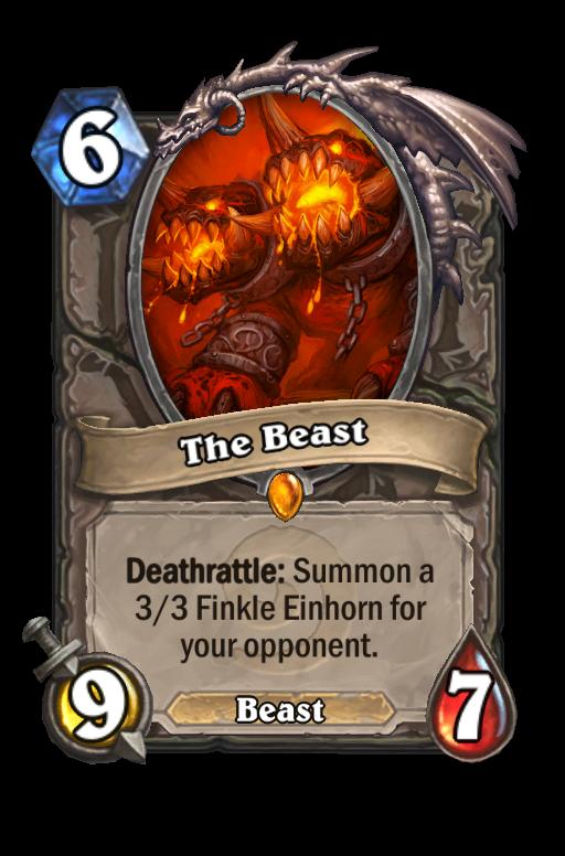 The Beast Hearthstone kártya
