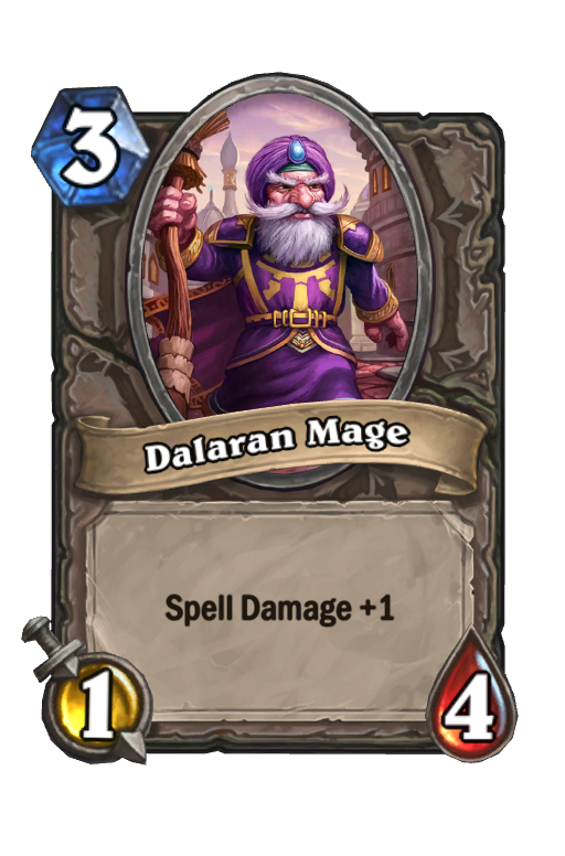 Dalaran Mage Hearthstone kártya