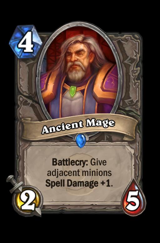 Ancient Mage Hearthstone kártya