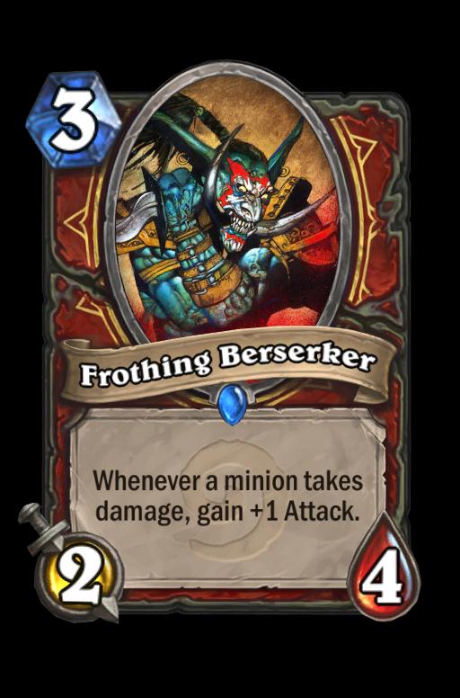 Frothing Berserker Hearthstone kártya